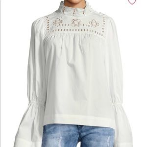 Free people another eternity top in white